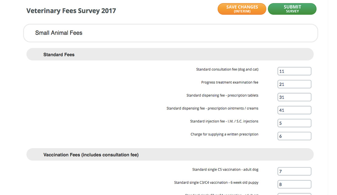 business survey examples